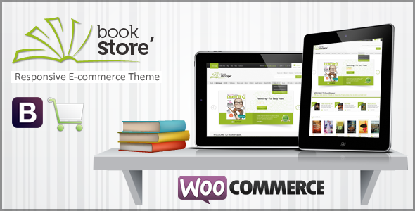 Book Store Responsive WooCommerce Theme - WooCommerce eCommerce