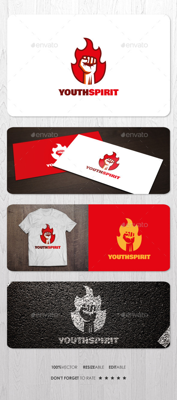 Youth Spirit Logo - Humans Logo Templates