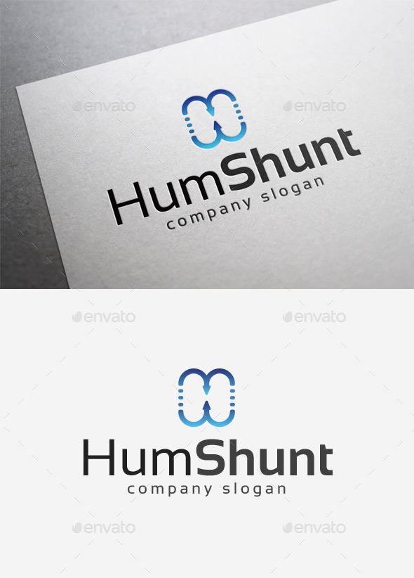 Hum Shunt Logo - Abstract Logo Templates