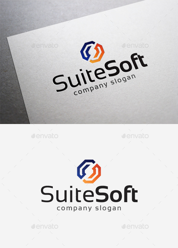 Suite Soft Logo - Abstract Logo Templates