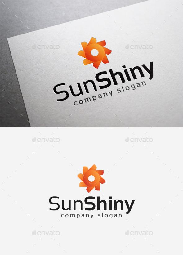 Sun Shiny Logo - Abstract Logo Templates