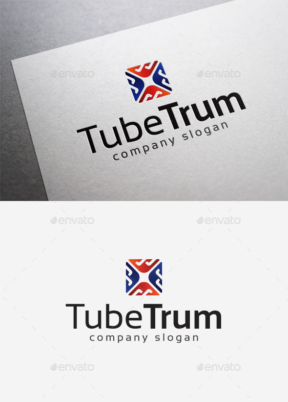 Tube Trum Logo - Abstract Logo Templates