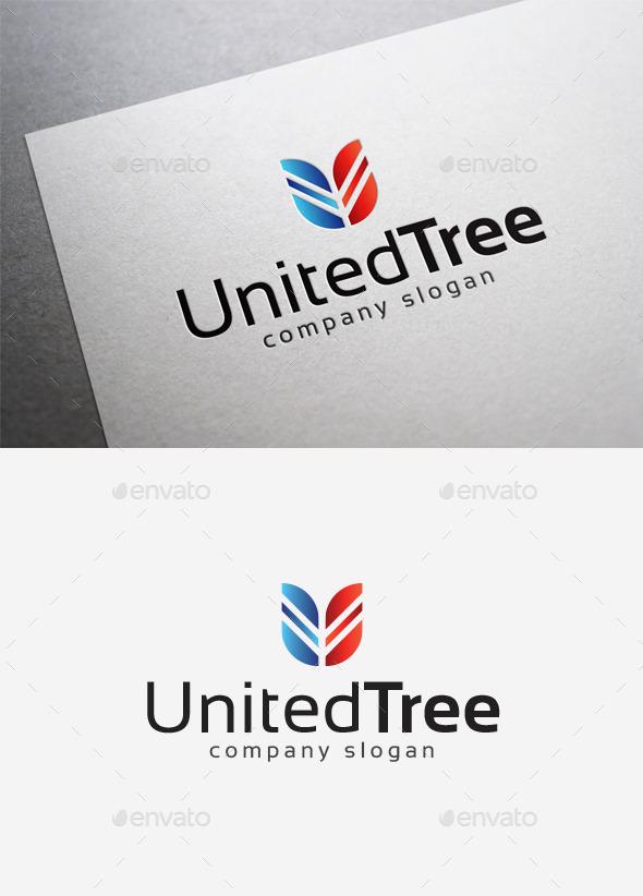 United Tree Logo - Abstract Logo Templates