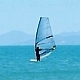 Windsurfing on a Clear Day in a Blue Sea - VideoHive Item for Sale