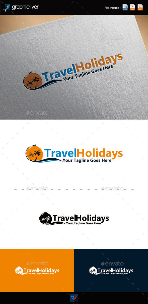 Travel Holiday Logo - Symbols Logo Templates