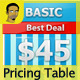 Web Ready Pricing Table v1.0  - GraphicRiver Item for Sale