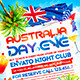 Australia Day Party Flyer - GraphicRiver Item for Sale