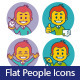 Two Sets of Flat Business Icons - GraphicRiver Item for Sale