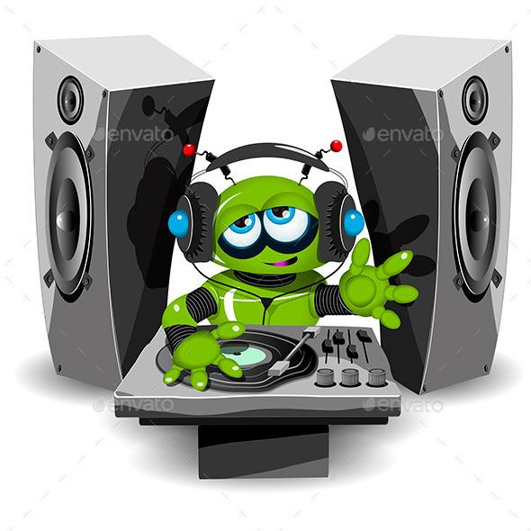 Robot DJ - Media Technology