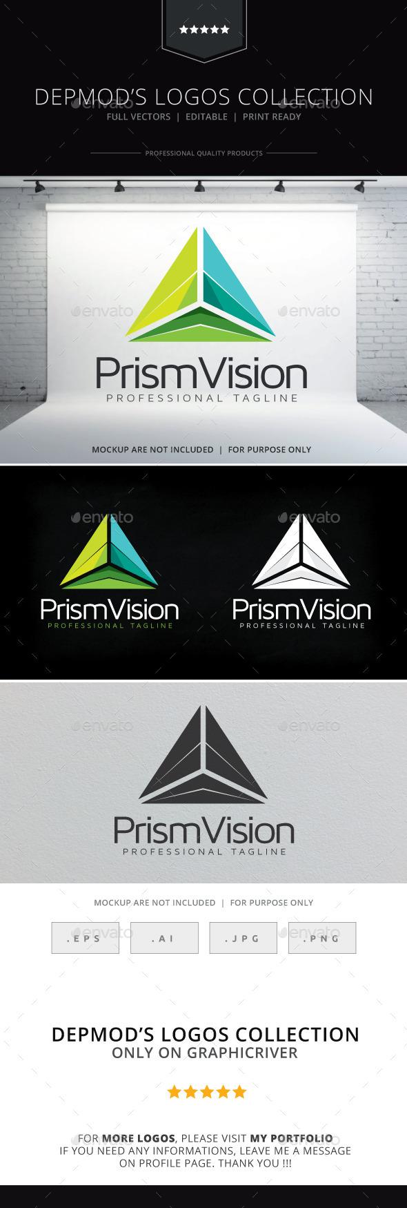 Prism Vision Logo - Symbols Logo Templates