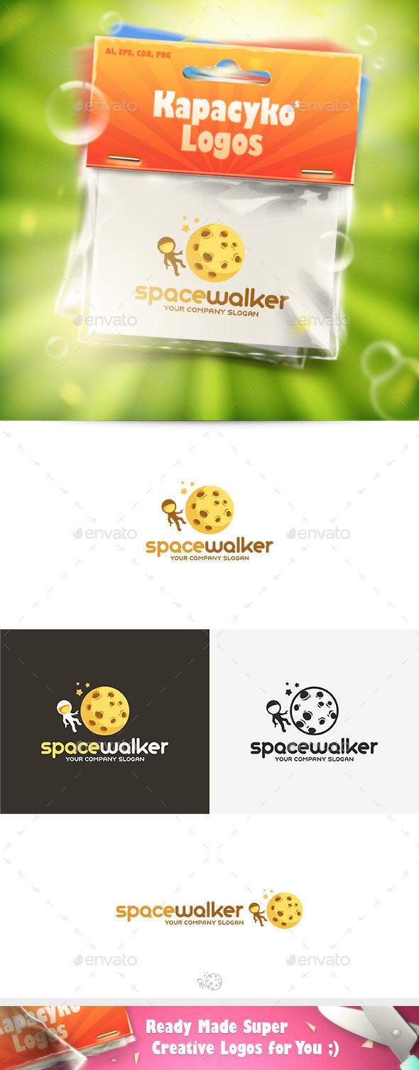 Space Walker Logo - Humans Logo Templates