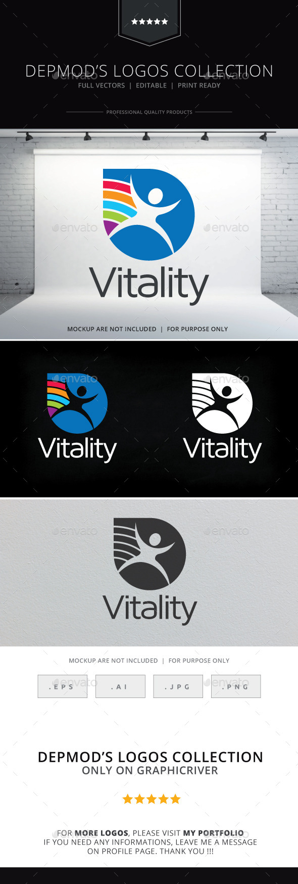 Vitality Logo - Humans Logo Templates