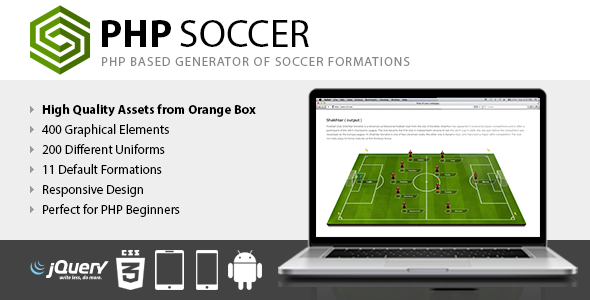 PHP Soccer - CodeCanyon Item for Sale