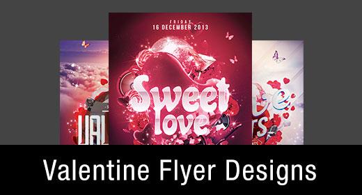 * Valentine Flyer Templates