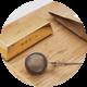 Golden «Tea Mania» Packaging Mock-Up - GraphicRiver Item for Sale