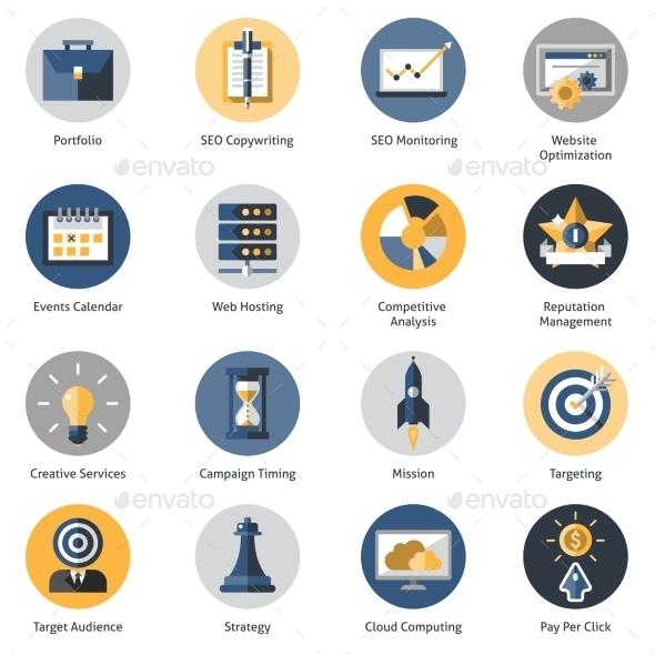 Seo Icons Set - Software Icons