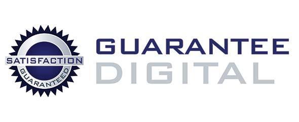 Guarantee digital logo main