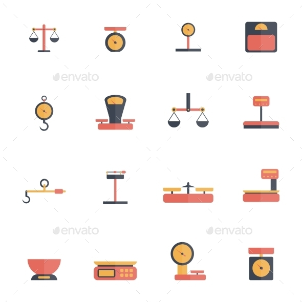 Scales Icons - Man-made Objects Objects