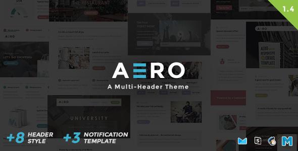 Aero – Responsive Email Template
