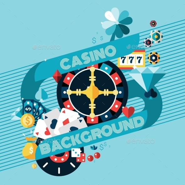 Casino Gambling Background - Backgrounds Decorative