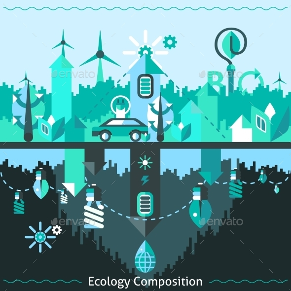 Ecology And Recycling Composition - Nature Conceptual