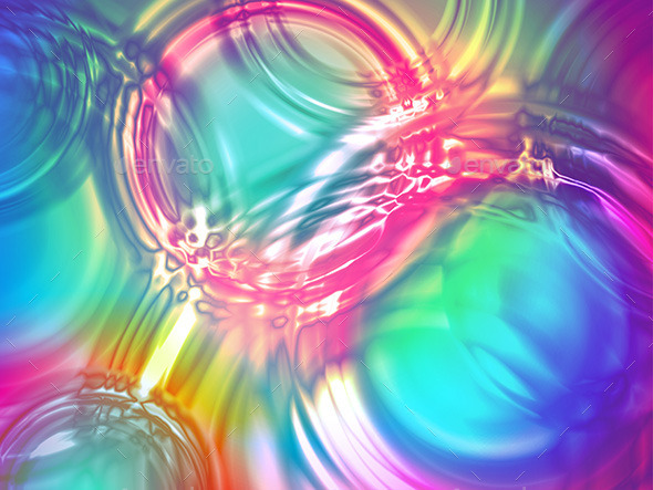 Water Wave Radial Ripple Rain Color Background - Nature Conceptual