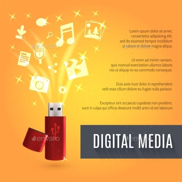 Usb Flash Drive Media - Media Technology