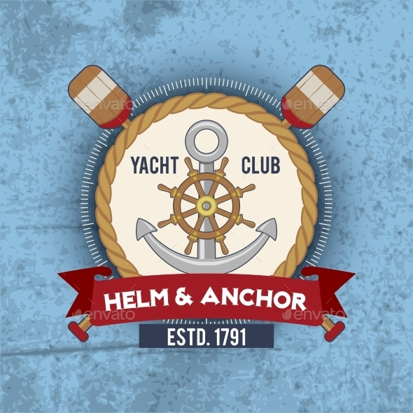 Nautical Emblem Vintage - Decorative Vectors