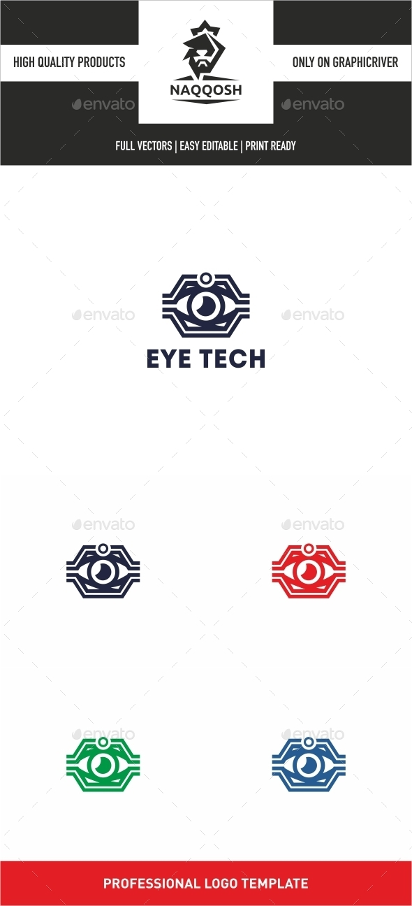 Eye Tech - Logo Templates
