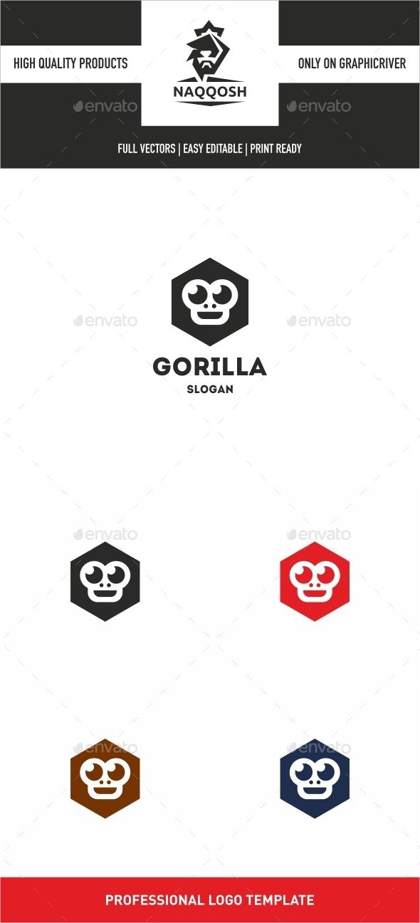 Gorilla - Logo Templates