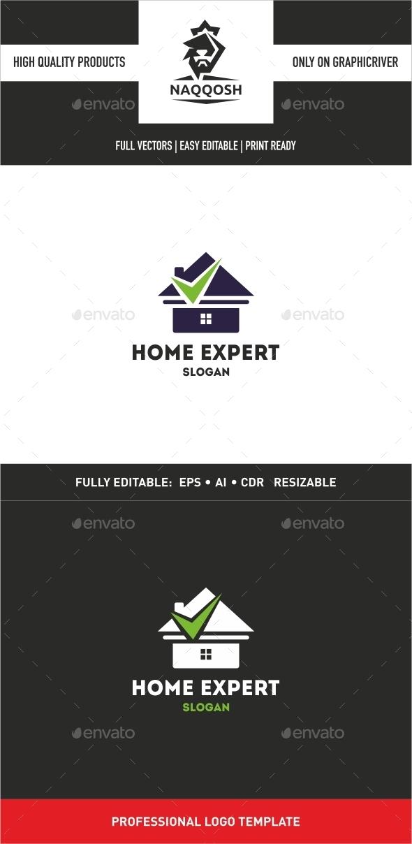 Home Expert Logo - Logo Templates