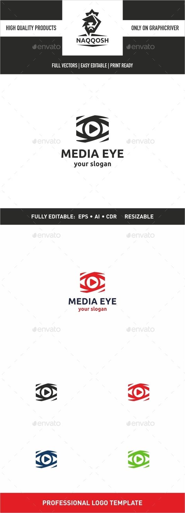 Media Eye - Symbols Logo Templates