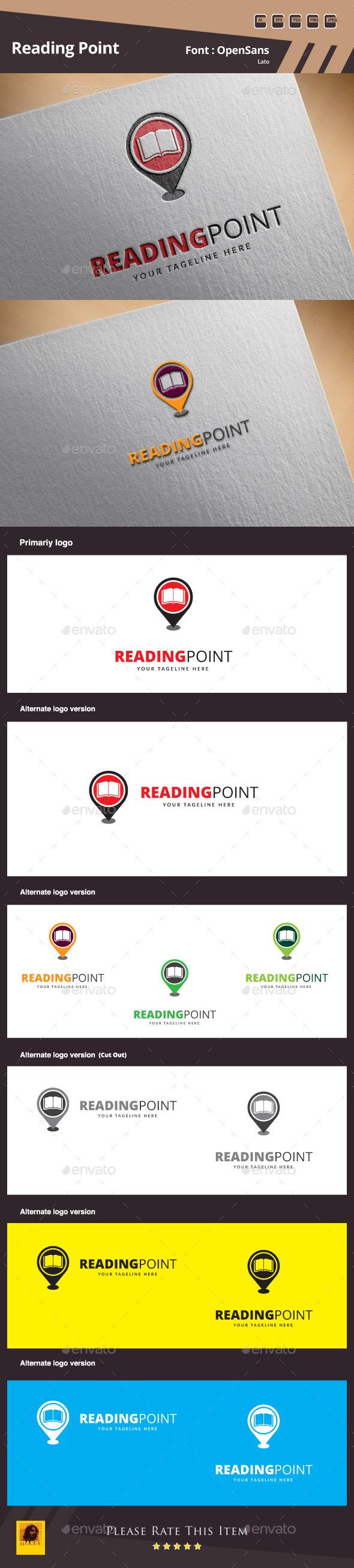 Reading Point Logo Template - Symbols Logo Templates