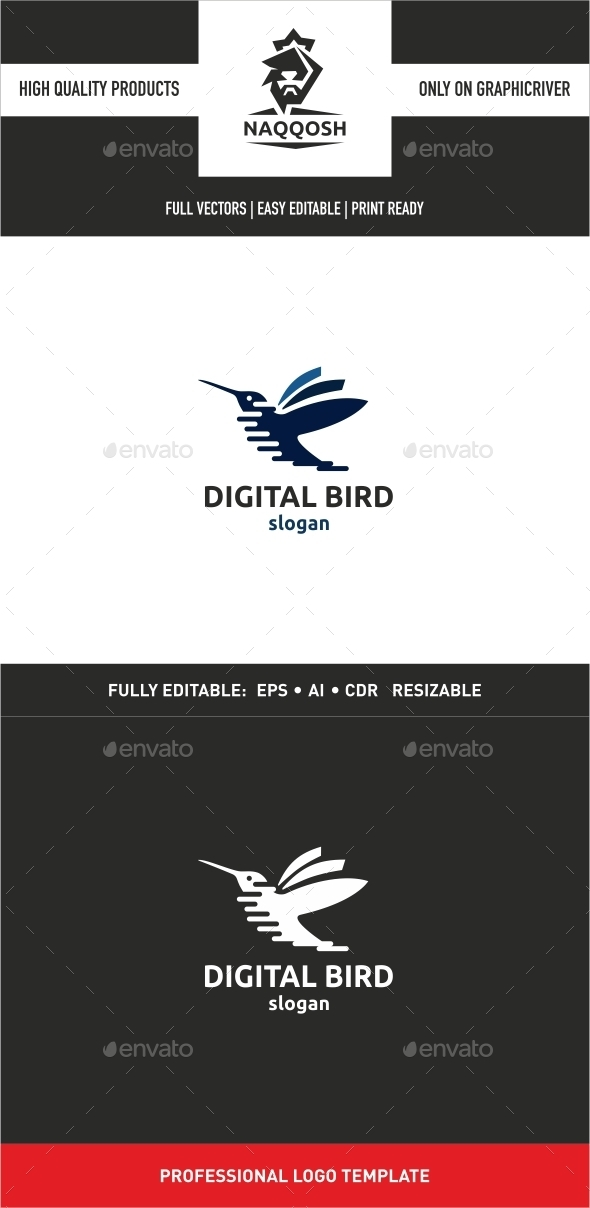 Digital Bird - Logo Templates