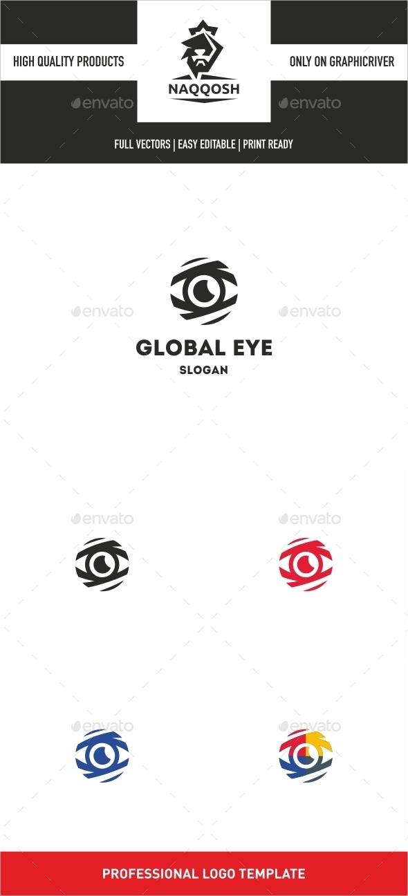 Global Eye Logo - Logo Templates
