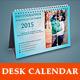 InDesign - Photo Collage Desk Calendar - GraphicRiver Item for Sale