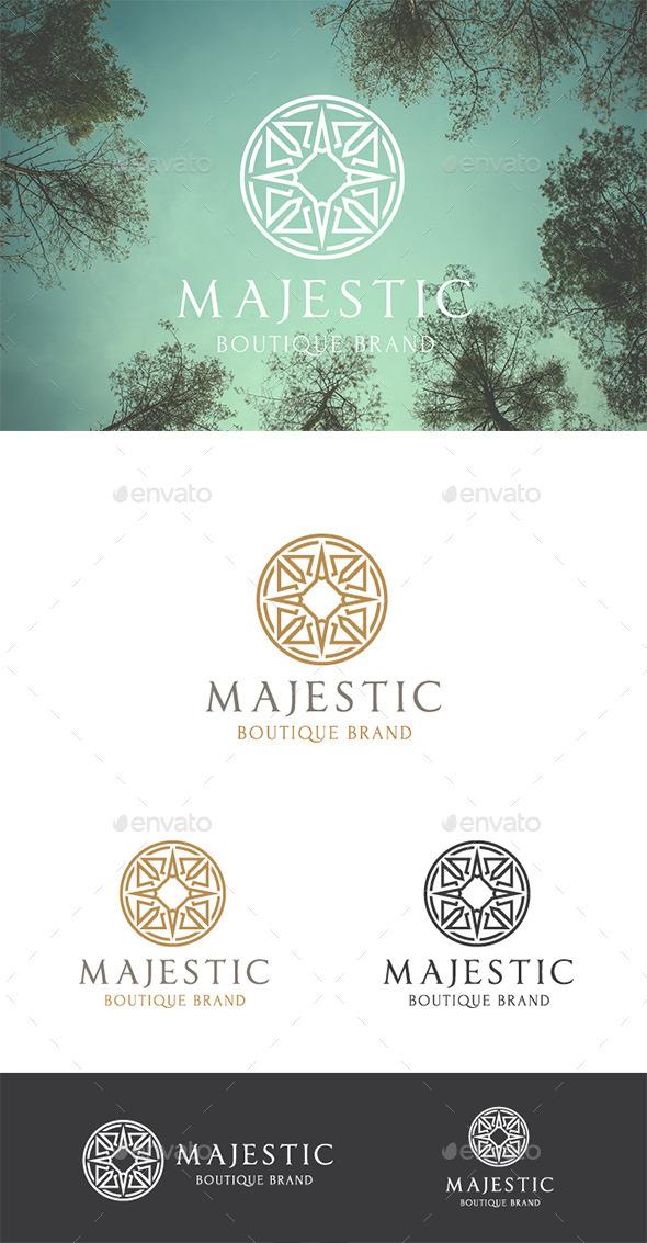 Majestic Brand - Crests Logo Templates