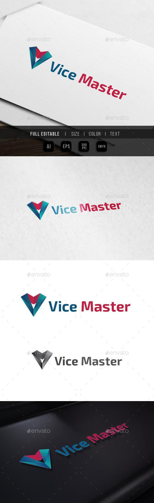 Letter V - Victory Agency - Vision Studio - Letters Logo Templates
