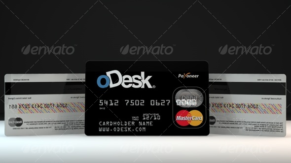 Credit/Debit master  Card - 3DOcean Item for Sale