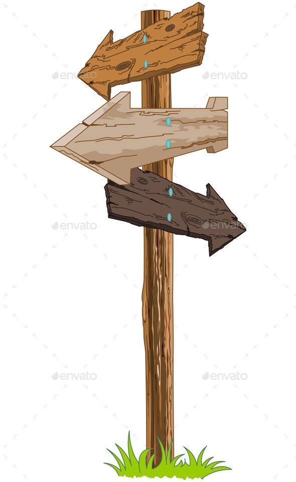 Signpost - Travel Conceptual