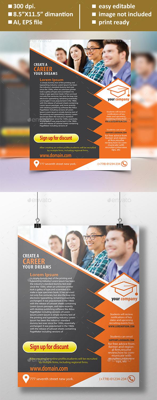 Educational Flyer - Flyers Print Templates
