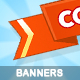 Game Banners - GraphicRiver Item for Sale