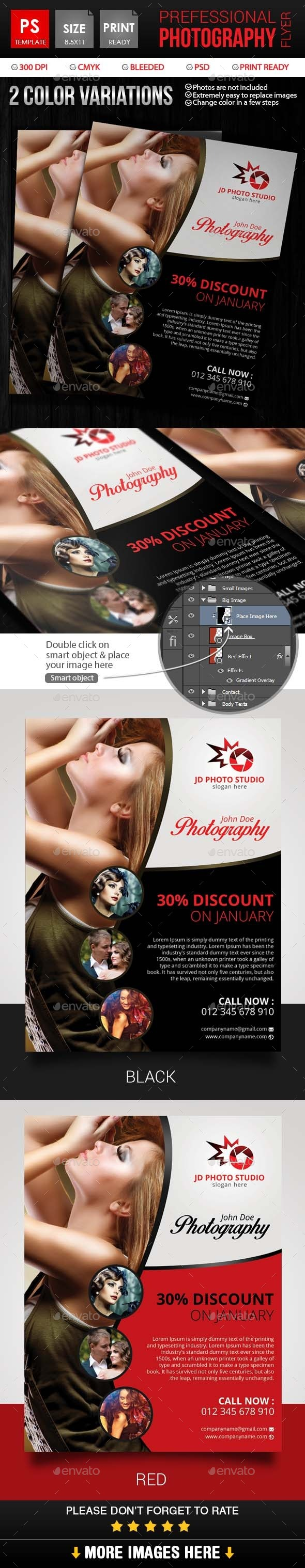 Professional Photography Flyer - Events Flyers