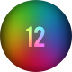 12 Blurred Colored Backgrounds