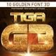 10 Golden Font 3D_3 - GraphicRiver Item for Sale