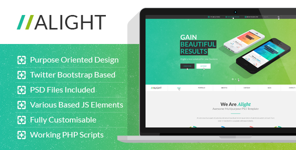 Alight – Multipurpose HTML Template