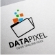 Data Pixel Logo - GraphicRiver Item for Sale