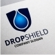 Drop Shield Logo - GraphicRiver Item for Sale