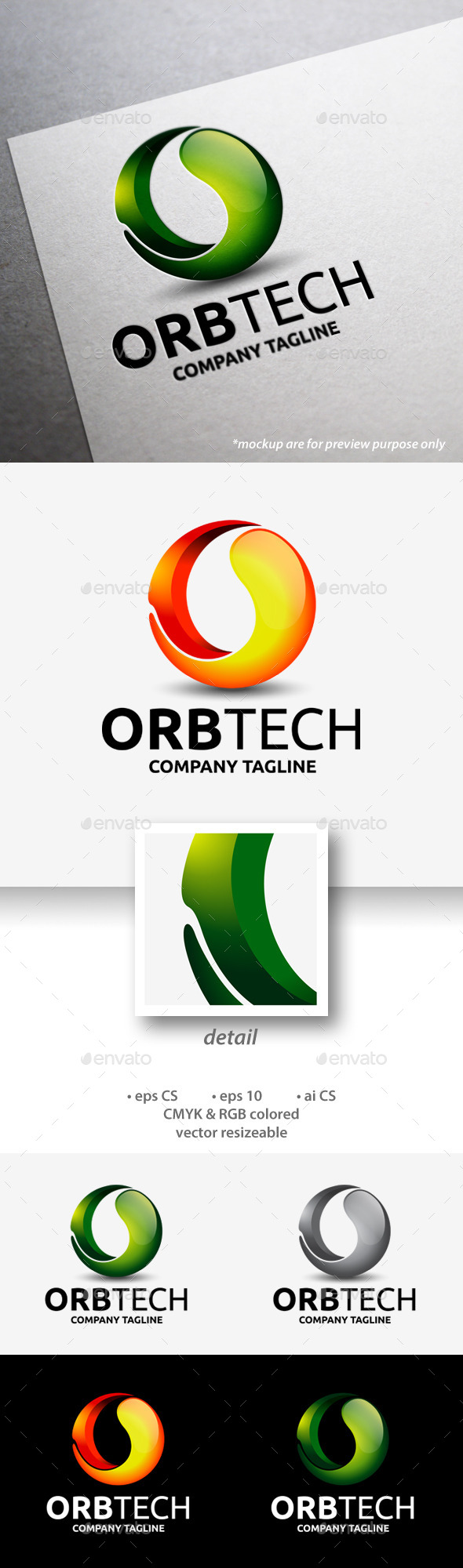 Orbtech Logo - Abstract Logo Templates
