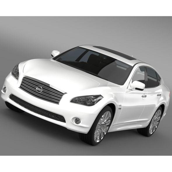 Nissan Fuga Hybrid (Y51) - 3DOcean Item for Sale